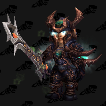 Death Knight Transmog Heroes' Scourgeborne Plate PvE Tier 7 Female Set