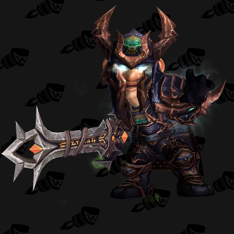 Death Knight Transmog Heroes' Scourgeborne Plate PvE Tier 7 Male Set