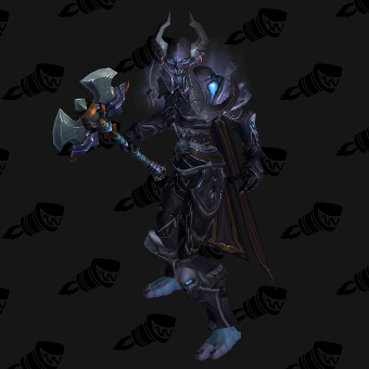 Death Knight Transmog Conqueror's Darkruned Plate PvE Tier 8.5 Female Set
