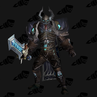 Death Knight Transmog Valorous Darkruned Plate PvE Tier 8 Male Set