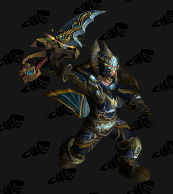 Death Knight PvE Tier 9 Alliance Female Set