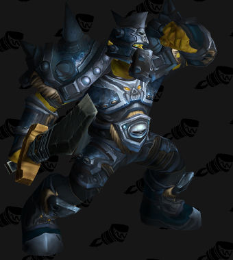 Death Knight PvE Tier 9 Horde Male Set