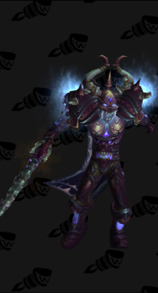 Death Knight PvP Arena Season 10 Male Set