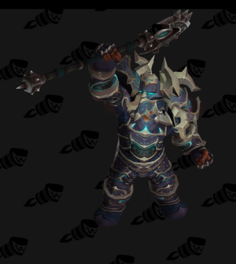 Death Knight PvP Arena Season 11 Male Set