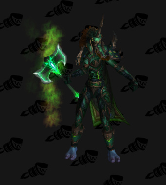 Death Knight PvE Arena Season 12 Blue Female Set