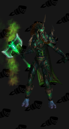 Death Knight PvP Arena Season 12 Blue Female Set