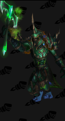 Death Knight PvP Arena Season 12 Blue Male Set