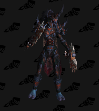 Death Knight PvE Arena Season 12 Elite Female Set