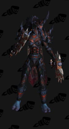 Death Knight PvP Arena Season 12 Elite Female Set