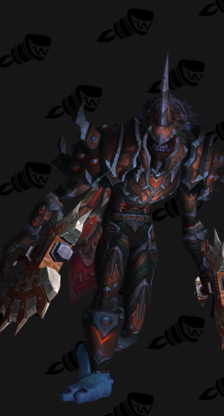 Death Knight PvP Arena Season 12 Elite Male Set