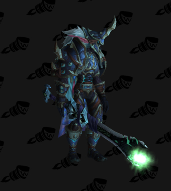 Death Knight PvP Arena Season 12 Male Set
