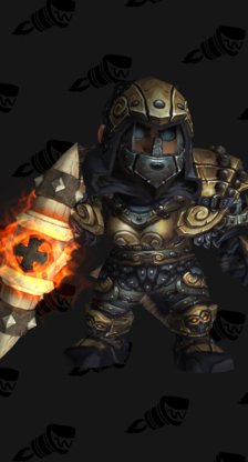 Death Knight PvP Arena Season 13 Alliance Male Set