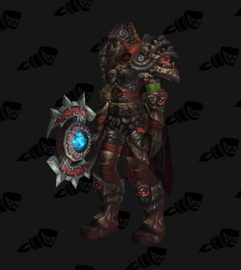 Death Knight PvE Arena Season 13 Horde Female Set