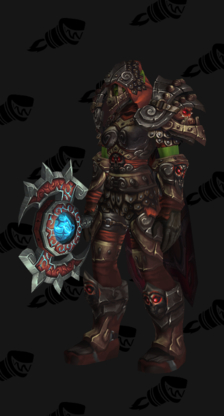 Death Knight PvP Arena Season 13 Horde Male Set