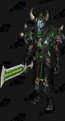 Death Knight PvP Arena Season 14 Elite Male Set