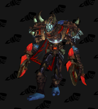 Death Knight PvP Arena Season 14 Horde Male Set