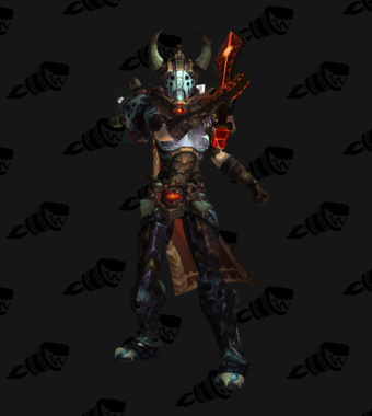 Death Knight PvE Arena Season 15 Alliance Female Set