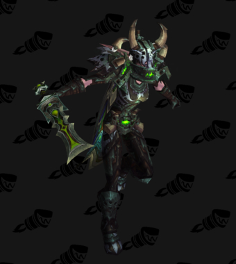 Death Knight PvE Arena Season 15 Elite Female Set