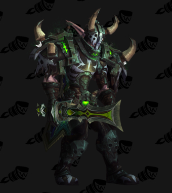 Death Knight PvP Arena Season 15 Elite Male Set