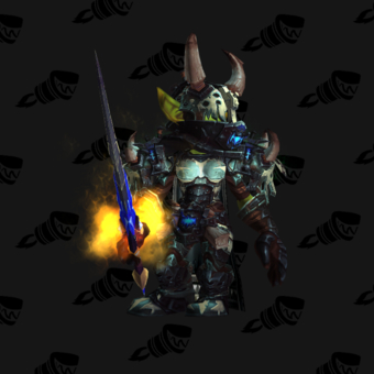 Death Knight PvE Arena Season 15 Horde Female Set