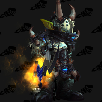 Death Knight PvP Arena Season 15 Horde Male Set