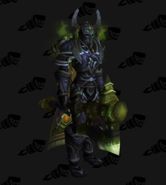 Death Knight PvE Arena Season 4 Female Set