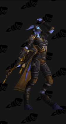 Death Knight PvP Arena Season 5 Epic Female Set (Level 200)