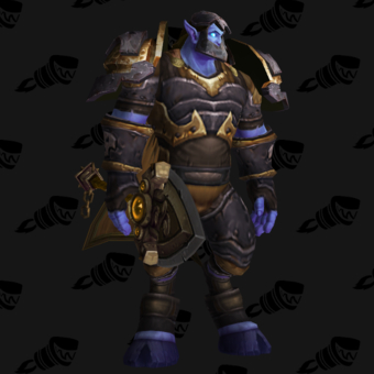 Death Knight PvP Arena Season 5 Epic Level 200 Male Set
