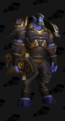 Death Knight PvP Arena Season 5 Epic Male Set (Level 200)