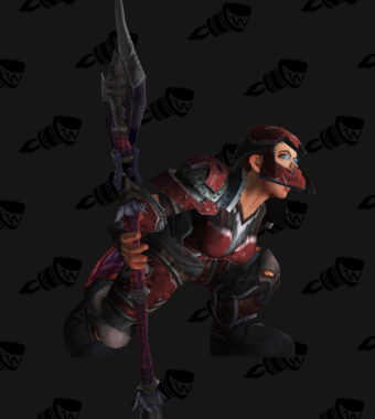 Death Knight PvE Arena Season 5 Epic Level 213 Female Set