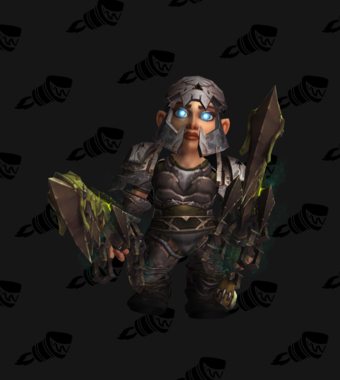 Death Knight PvE Arena Season 5 Rare Female Set