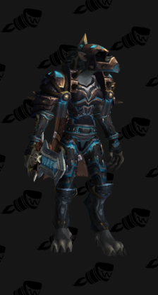 Death Knight PvP Arena Season 7 Male Set