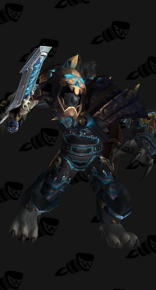 Death Knight PvP Arena Season 7 Female Set