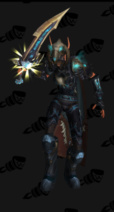 Death Knight PvP Arena Season 8 Male Set