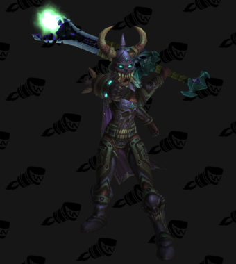 Death Knight PvE Arena Season 9 Epic Level 85 Female Set