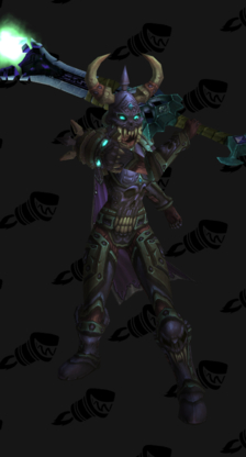 Death Knight PvP Arena Season 9 Epic Level 85 Female Set