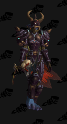 Death Knight PvP Arena Season 9 Female Set