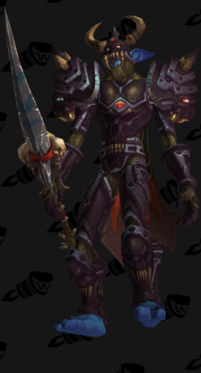 Death Knight PvP Arena Season 9 Male Set