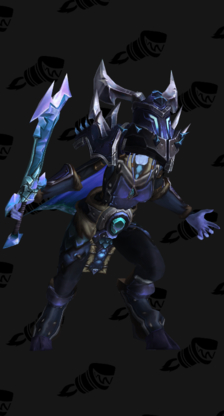 Death Knight PvP Arena Warlords Season 1 Alliance Female Set