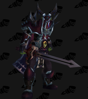 Death Knight PvE Arena Warlords Season 1 Blue Horde Female Set