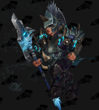 Death Knight PvE Arena Warlords Season 1 Epic Alliance Female Set