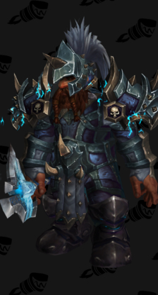 Death Knight PvP Arena Warlords Season 1 Alliance Male Set