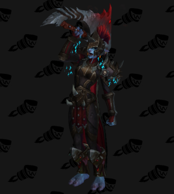 Death Knight PvE Arena Warlords Season 1 Epic Horde Female Set