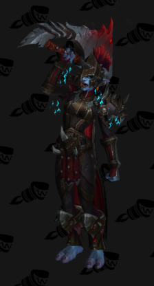 Death Knight PvP Arena Warlords Season 1 Horde Female Set