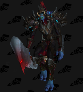 Death Knight PvP Arena Warlords Season 1 Epic Horde Male Set