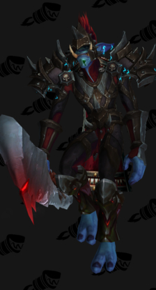 Death Knight PvP Arena Warlords Season 1 Horde Male Set