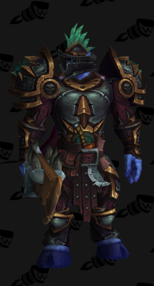 Death Knight PvP Arena Warlords Season 2 Alliance Male Set