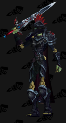 Death Knight PvP Arena Warlords Season 2 Horde Female Set
