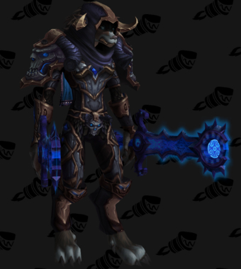 Death Knight PvE Arena Warlords Season 2 Epic Alliance Female Set