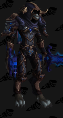 Death Knight PvP Arena Warlords Season 2 Alliance Female Set